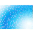 Blue background blurred vector image vector image