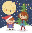 Christmas Christmas Christmastime vector image vector image