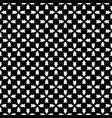 geometric seamless pattern traversal figures vector image vector image