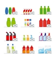 Household chemicals vector image vector image