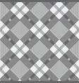 plaid checkered tartan seamless pattern in black vector image
