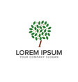 tree star logo design concept template vector image