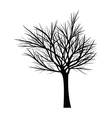 Trees with dead branches vector image vector image