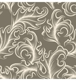 Victorian leaves Seamless pattern vector image vector image