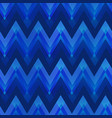 dark blue color zigzag seamless pattern vector image vector image