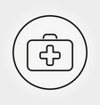 first aid case universal icon editable vector image vector image
