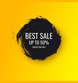 splash ink banner best sale original poster vector image