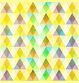 abstract colorful mosaic template vector image vector image