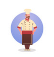 cook icon chef professional restaurant worker vector image