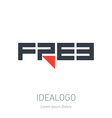 Free - idea for logo Free - original logotype Free vector image
