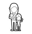 mom and kids design vector image