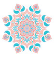 Oriental decorative elementIslam Arabic Indian vector image vector image