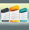 payment plans banners design can be used for vector image vector image