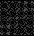 ring pattern background - abstract monochrome vector image vector image