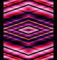 abstract seamless pink lines pattern vector image vector image