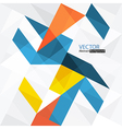 abstract triangles with copyspace vector image vector image
