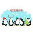 christmas winter holidays greeting banner vector image vector image