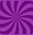 geometrical spiral background vector image vector image