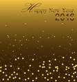 Happy New Year 2016 vector image vector image