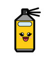kawaii spray bottle icon vector image vector image