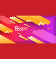 modern abstract background banner with waves vector image vector image