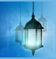 ramadan muslim with ramadan for vector image