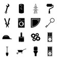 set of icons construction concept a set of vector image vector image