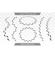 shoes imprints set vector image