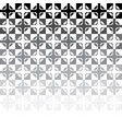 black and white abstract tile mosaic vector image vector image