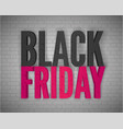 black friday social media post template vector image vector image