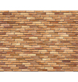 brown brick wall seamless background vector image vector image
