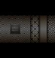 Geometric seamless golden pattern background