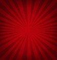 Red Retro Sunburst Paper vector image vector image