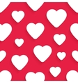 seamless pattern for Valentines Day with vector image vector image