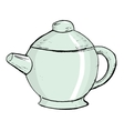 china teapot vector image vector image