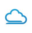 cloud Logo Template vector image