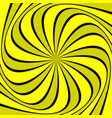 Geometric swirl background vector image