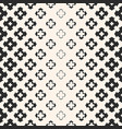 halftone seamless texture with floral shapes vector image vector image