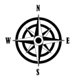 icon of Compass rose vector image