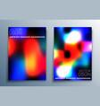 set gradient texture design for background vector image vector image