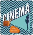 cinema1 vector image
