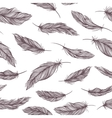 Feather Pattern vector image vector image