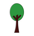 green tree nature forest plant image vector image vector image