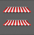 Outdoor awnings striped tents or textile rofor