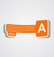 paper key tag vector image