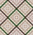 Pattern decorative lattice vector image vector image