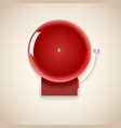 Red school bell