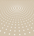 abstract white color dots pattern halftone radius vector image