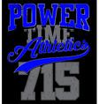 Athletics college department vector image vector image