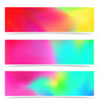 bright holi abstract colorful fantasy cards vector image